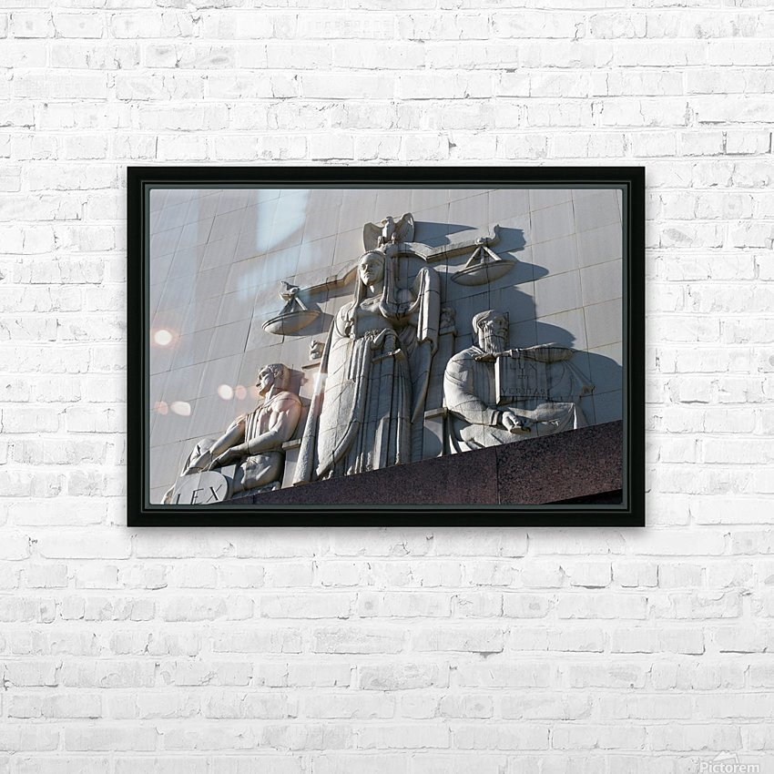 Surrender to Justice HD Sublimation Metal print with Decorating Float Frame (BOX)