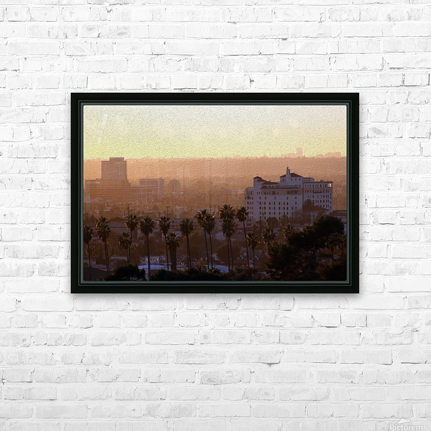 Southern California Sunshine HD Sublimation Metal print with Decorating Float Frame (BOX)