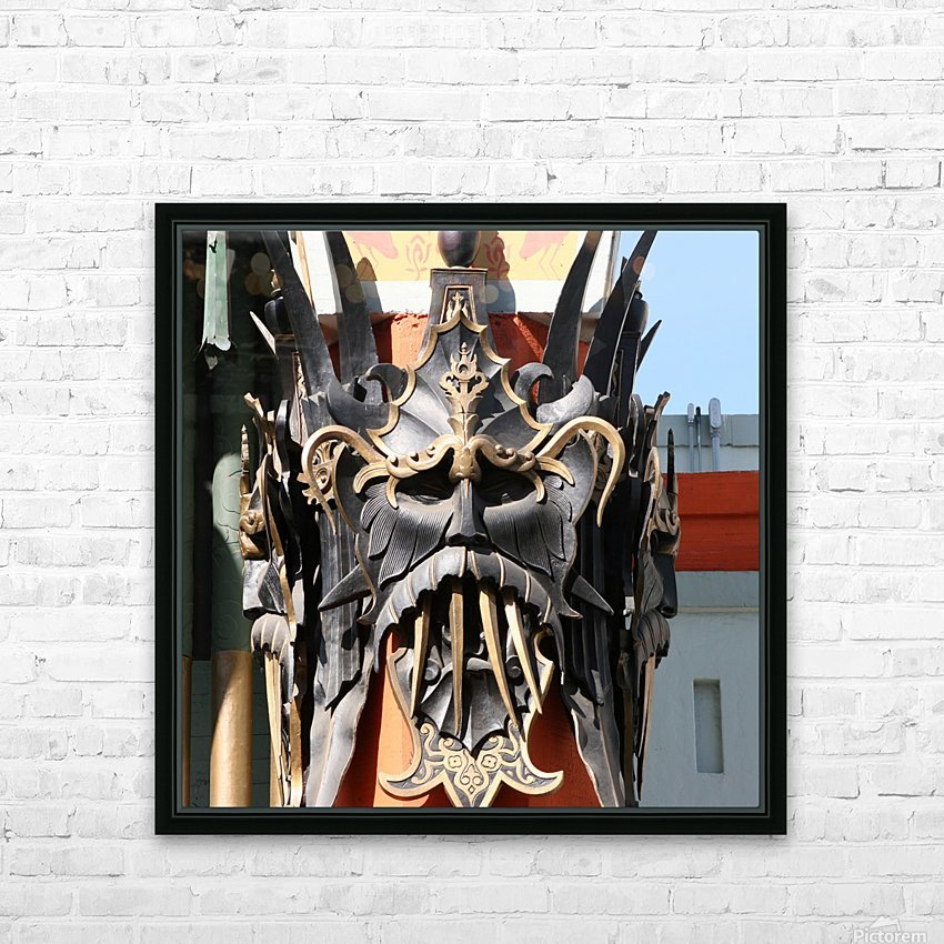 Mask at Grauman's Chinese Theater HD Sublimation Metal print with Decorating Float Frame (BOX)