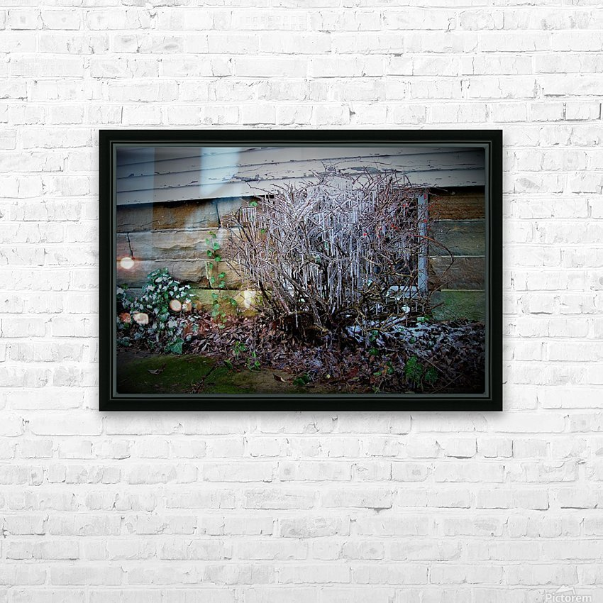 Winter Tears HD Sublimation Metal print with Decorating Float Frame (BOX)