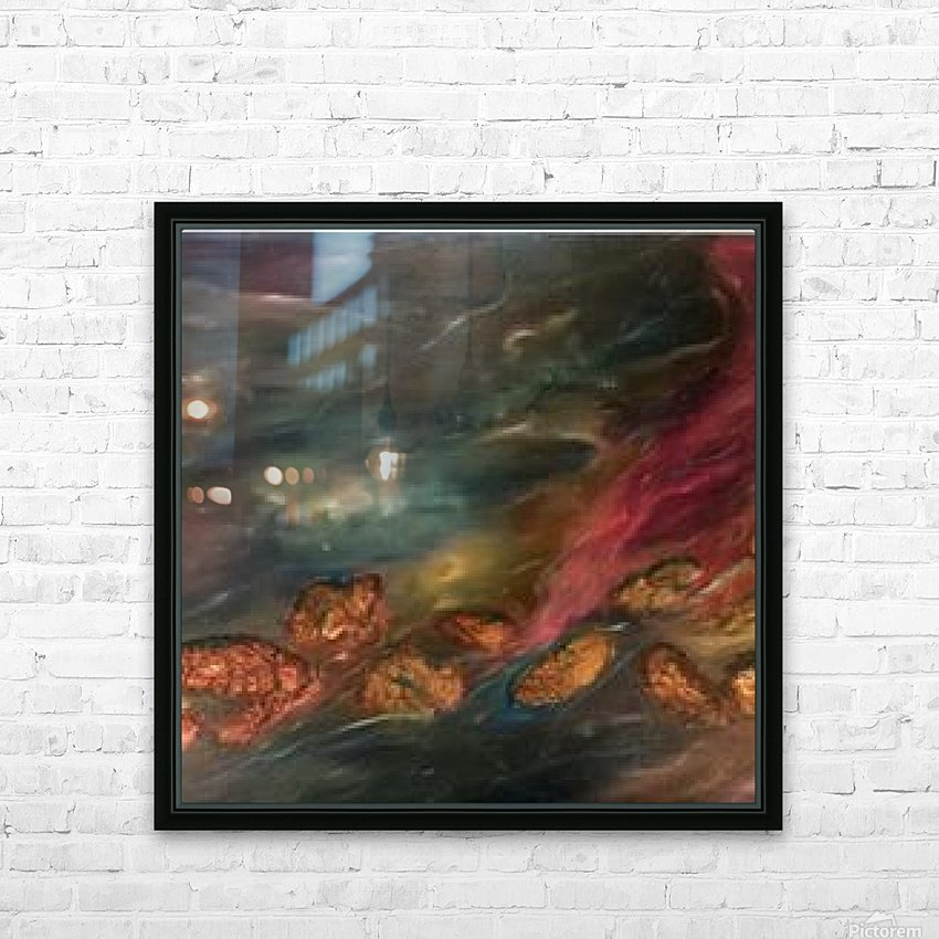 The Mysteries of the Earth HD Sublimation Metal print with Decorating Float Frame (BOX)