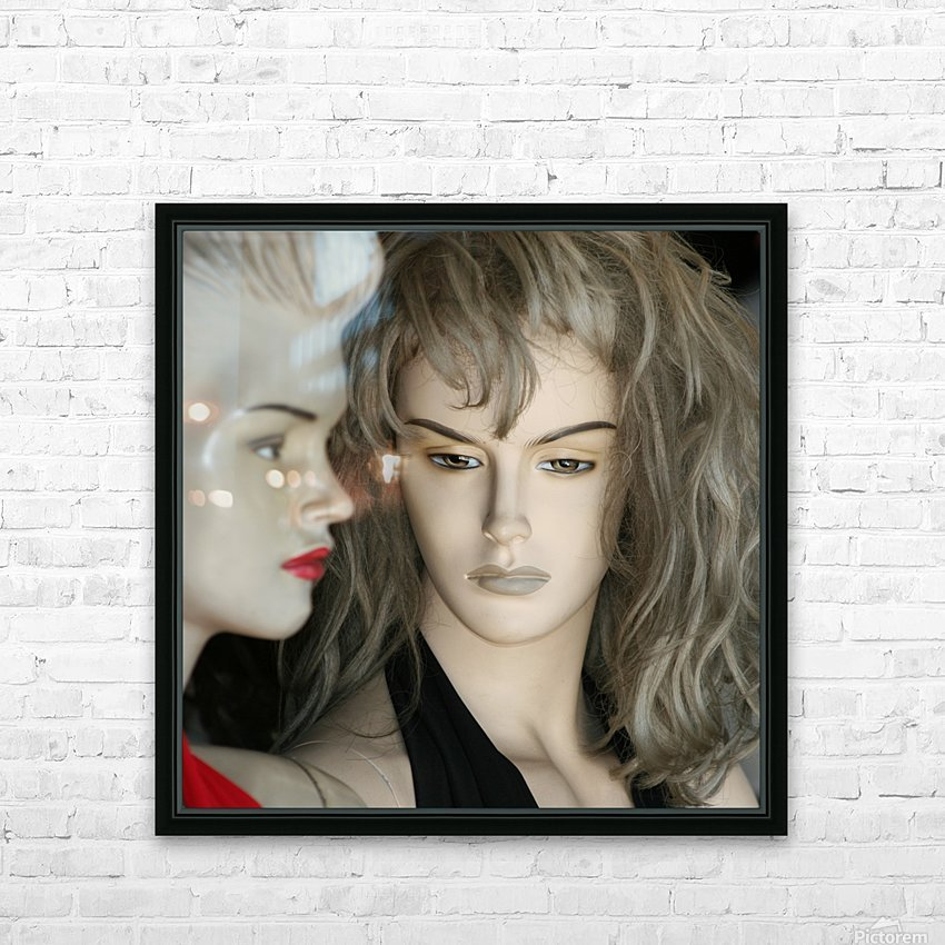 Mannequin Dreams HD Sublimation Metal print with Decorating Float Frame (BOX)