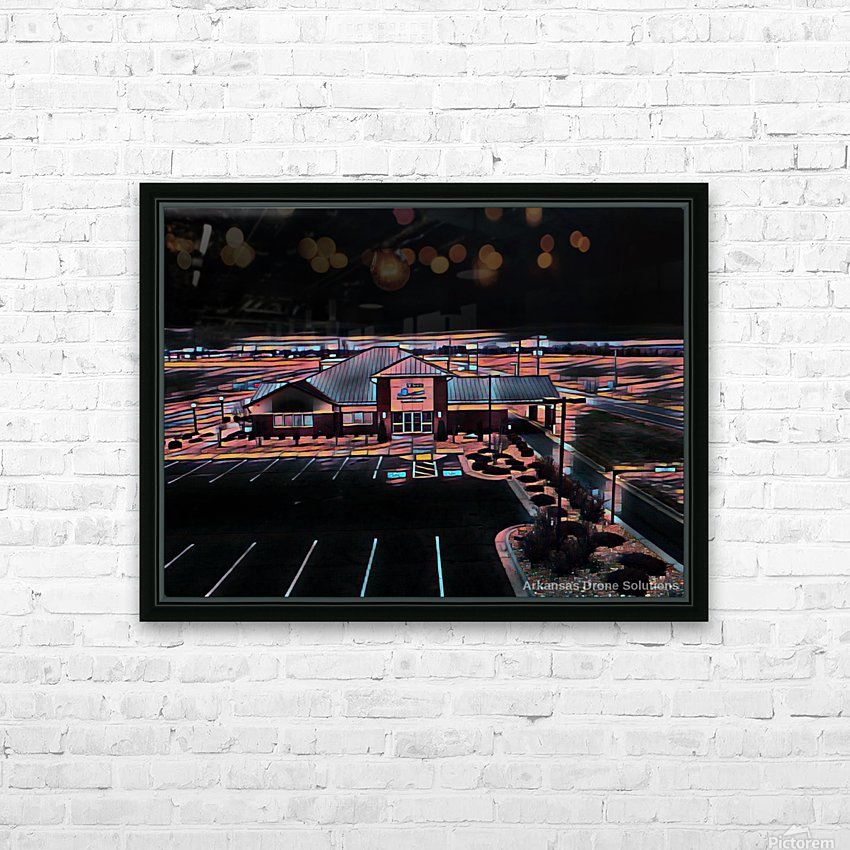 Vilonia Water 3 HD Sublimation Metal print with Decorating Float Frame (BOX)