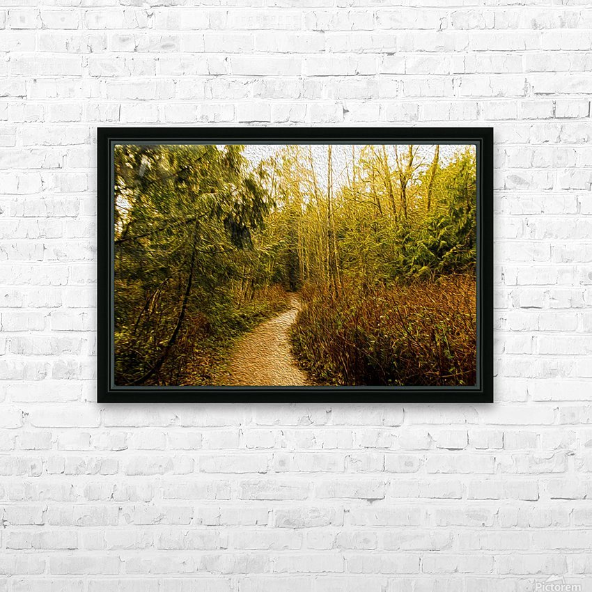 Walk HD Sublimation Metal print with Decorating Float Frame (BOX)