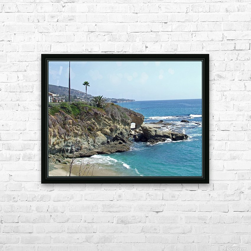 montage arch 2 HD Sublimation Metal print with Decorating Float Frame (BOX)