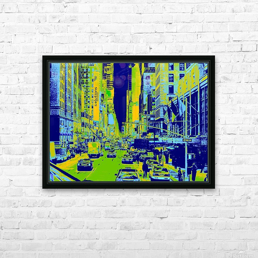 Madison Ave HD Sublimation Metal print with Decorating Float Frame (BOX)