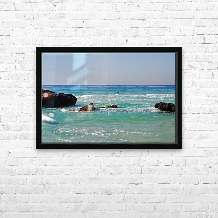 Ocean by Dana Point CA HD Sublimation Metal print with Decorating Float Frame (BOX)