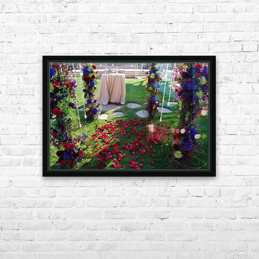 After The Wedding HD sublimation métal imprimé avec décoration flotteur cadre (boîte)