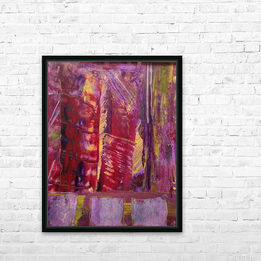 Change is Inevitable Abstract Painting HD Sublimation Metal print with Decorating Float Frame (BOX)