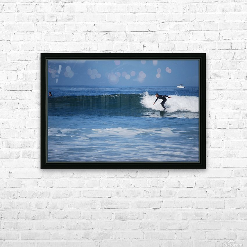 Califonia surfer HD Sublimation Metal print with Decorating Float Frame (BOX)