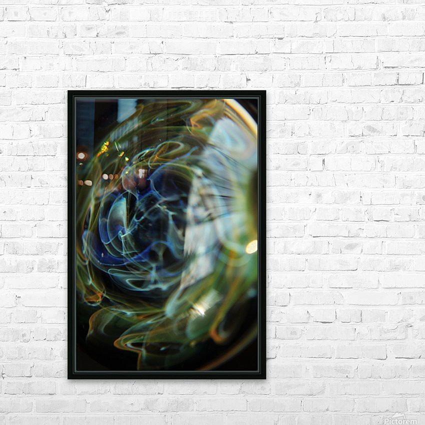 GalaxyInGlassV001 HD Sublimation Metal print with Decorating Float Frame (BOX)