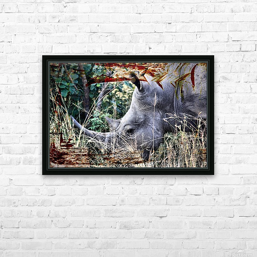 Kifaru HD Sublimation Metal print with Decorating Float Frame (BOX)
