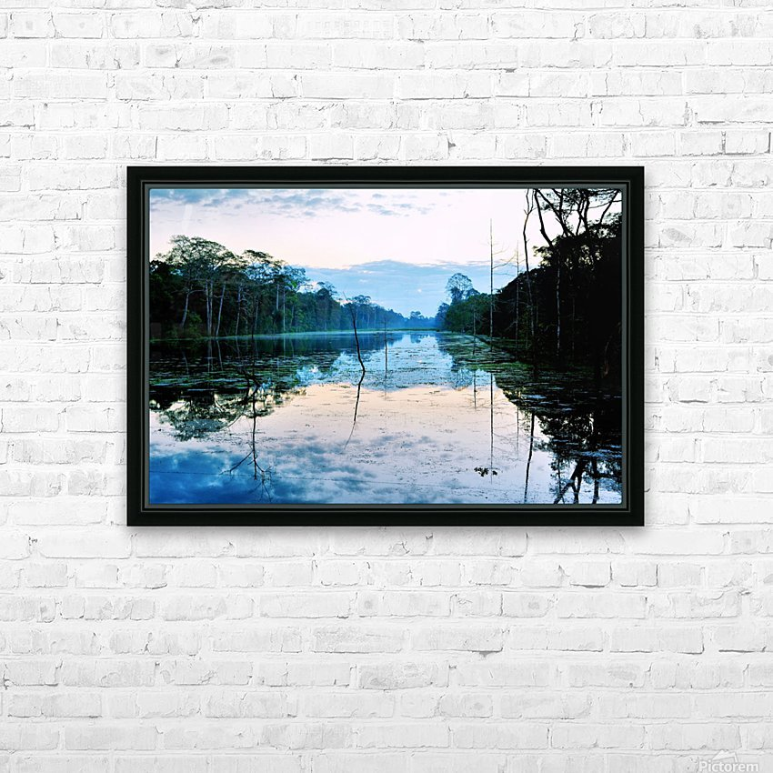 Cambodia HD Sublimation Metal print with Decorating Float Frame (BOX)
