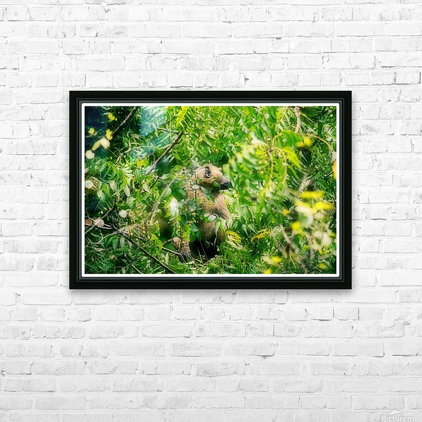 Ghana HD Sublimation Metal print with Decorating Float Frame (BOX)