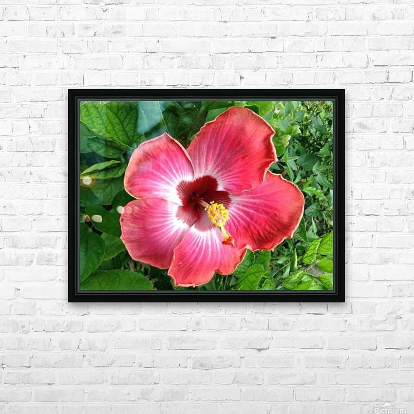Awesome Petals HD Sublimation Metal print with Decorating Float Frame (BOX)