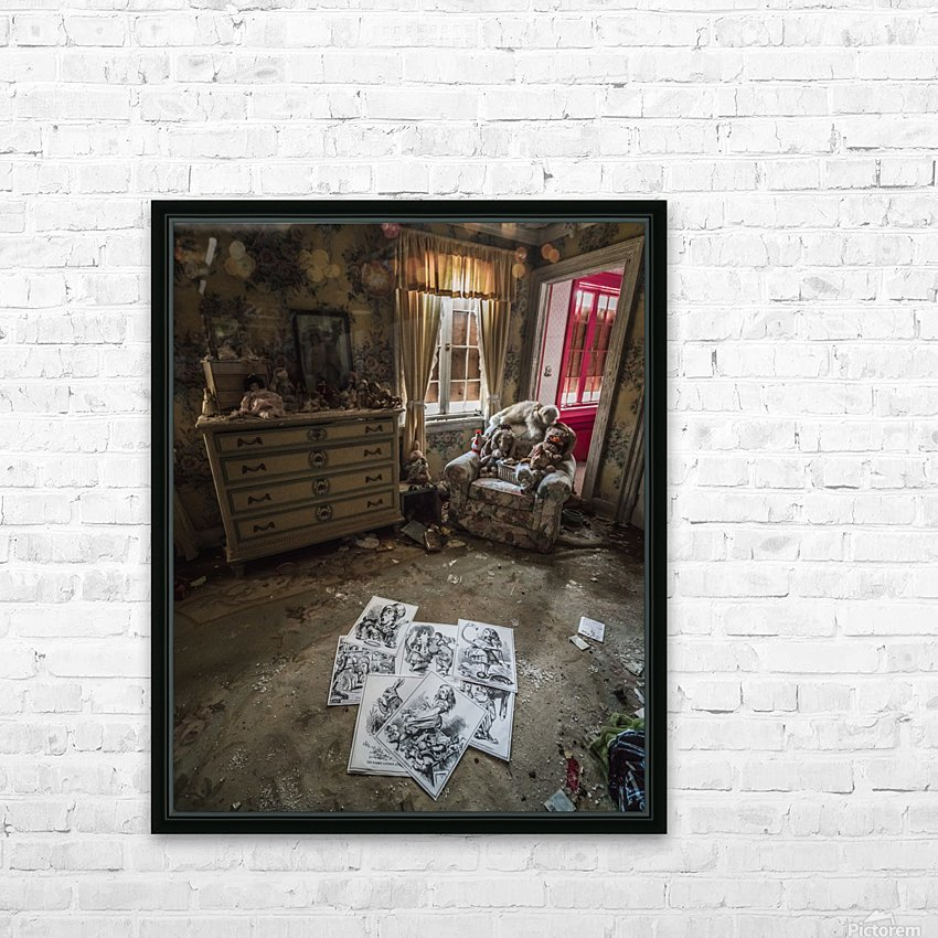 Abandoned Alice In Wonderland Room HD Sublimation Metal print with Decorating Float Frame (BOX)