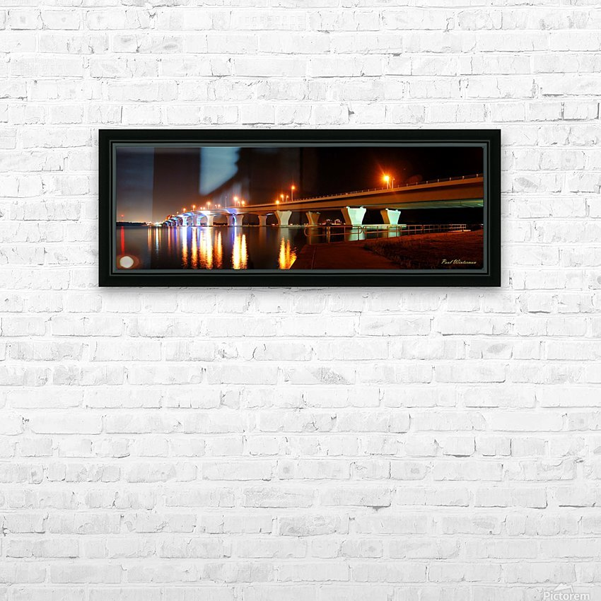2010 FL 38- Hathaway at Night HD Sublimation Metal print with Decorating Float Frame (BOX)
