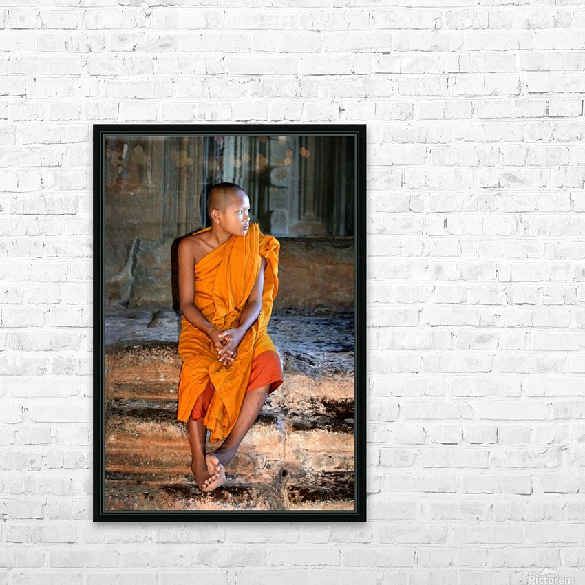 Angkor Wat Cambodia HD Sublimation Metal print with Decorating Float Frame (BOX)