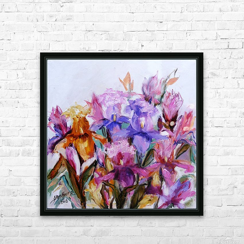 irisi HD Sublimation Metal print with Decorating Float Frame (BOX)