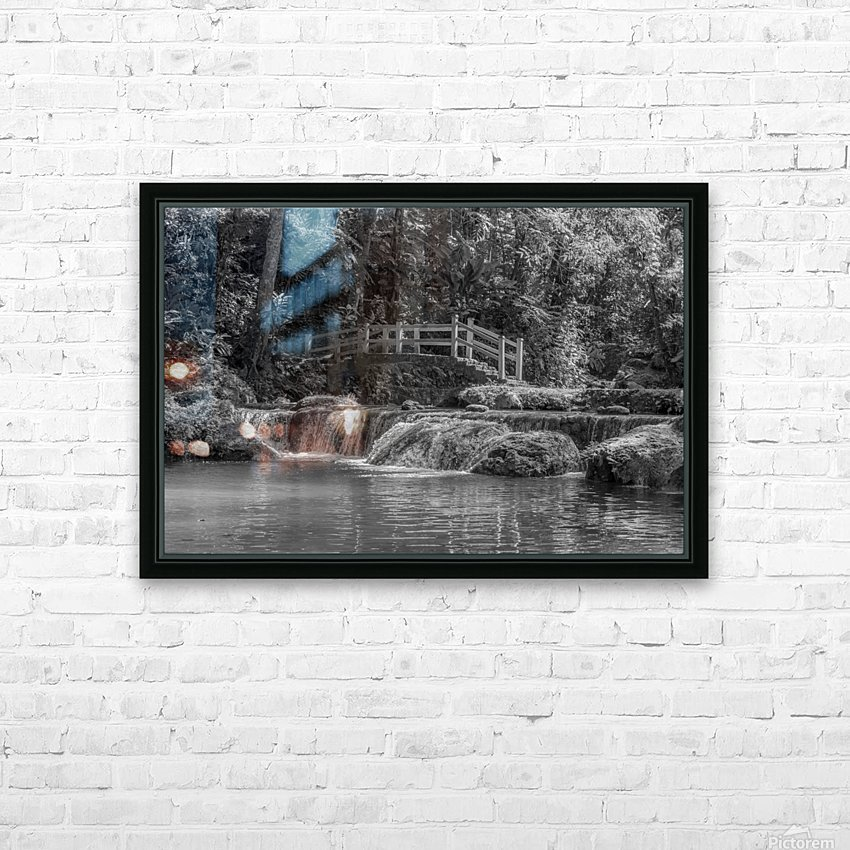 Flow HD Sublimation Metal print with Decorating Float Frame (BOX)