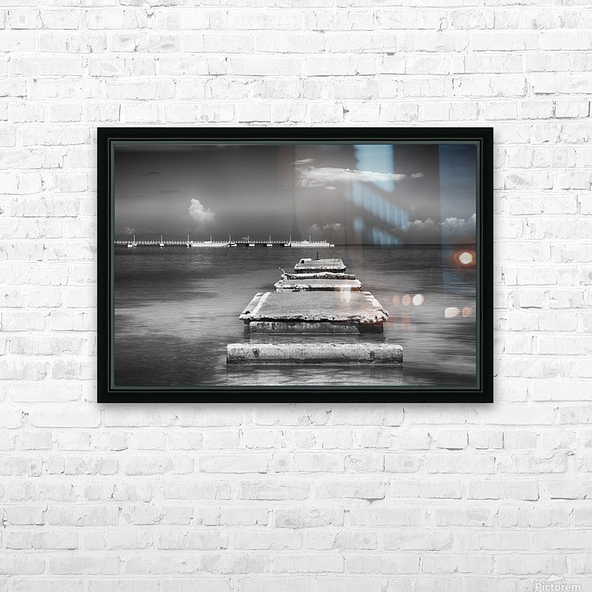The Ruin HD Sublimation Metal print with Decorating Float Frame (BOX)