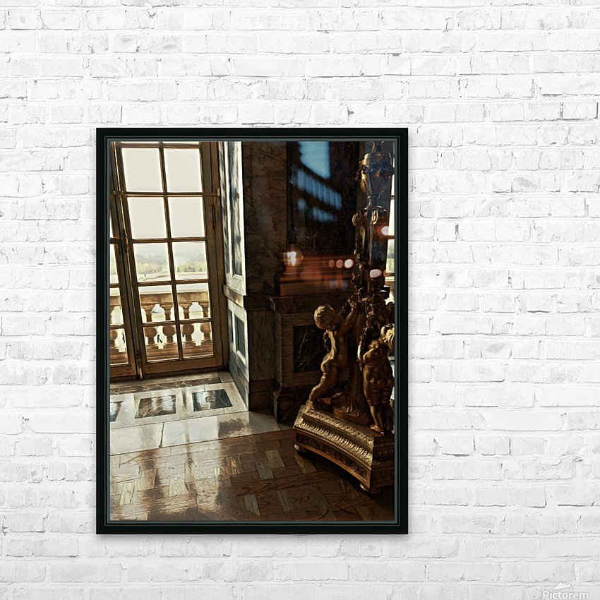 Versailles & Window HD Sublimation Metal print with Decorating Float Frame (BOX)