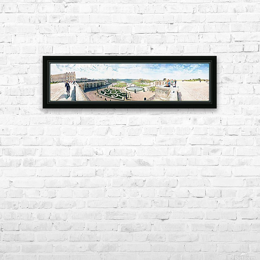Versailles & Garden  HD Sublimation Metal print with Decorating Float Frame (BOX)