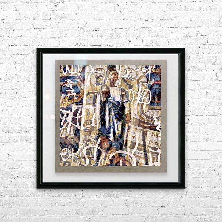 Luqas: Ang Patron ng mga Trasher HD Sublimation Metal print with Decorating Float Frame (BOX)