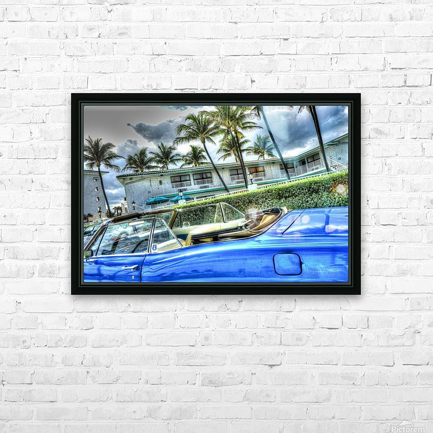 Vintage HD Sublimation Metal print with Decorating Float Frame (BOX)