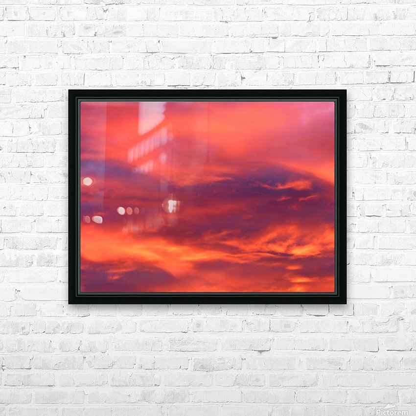 Still waters run deep 1 HD Sublimation Metal print with Decorating Float Frame (BOX)