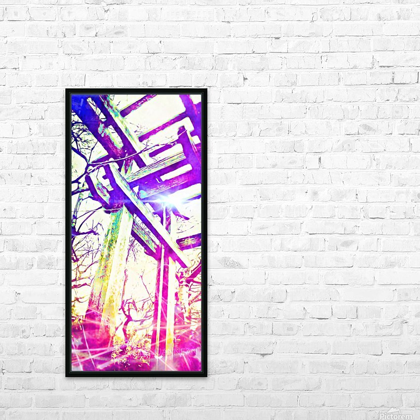 Called by the Light HD Sublimation Metal print with Decorating Float Frame (BOX)