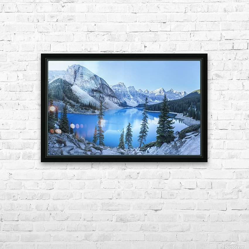 Heavenly blue HD Sublimation Metal print with Decorating Float Frame (BOX)