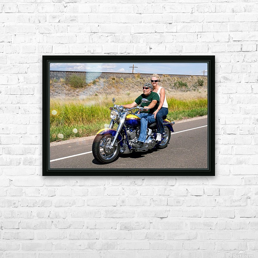 MALO HD Sublimation Metal print with Decorating Float Frame (BOX)