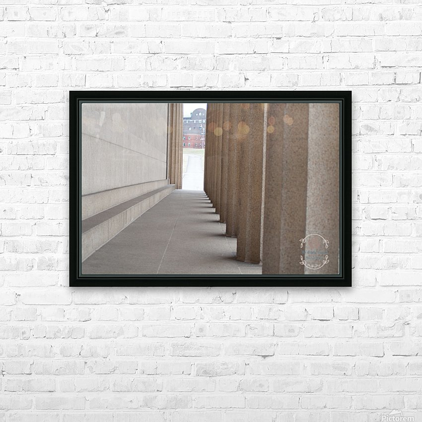 Inside the walls HD Sublimation Metal print with Decorating Float Frame (BOX)