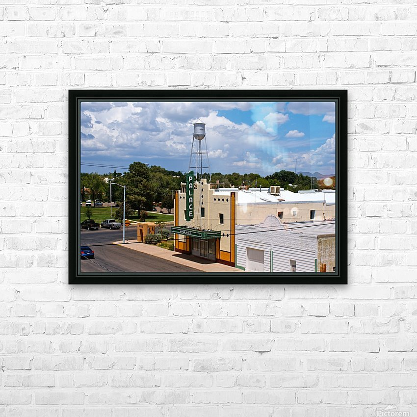 Palace HD Sublimation Metal print with Decorating Float Frame (BOX)