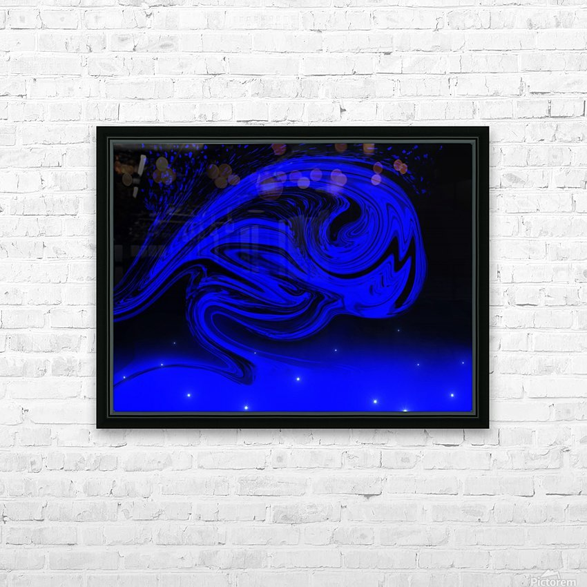 Wave Of Destraction HD Sublimation Metal print with Decorating Float Frame (BOX)