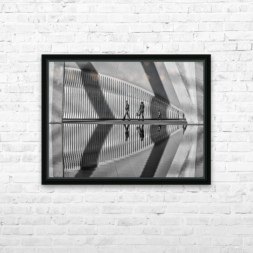 Valencia shadows HD Sublimation Metal print with Decorating Float Frame (BOX)
