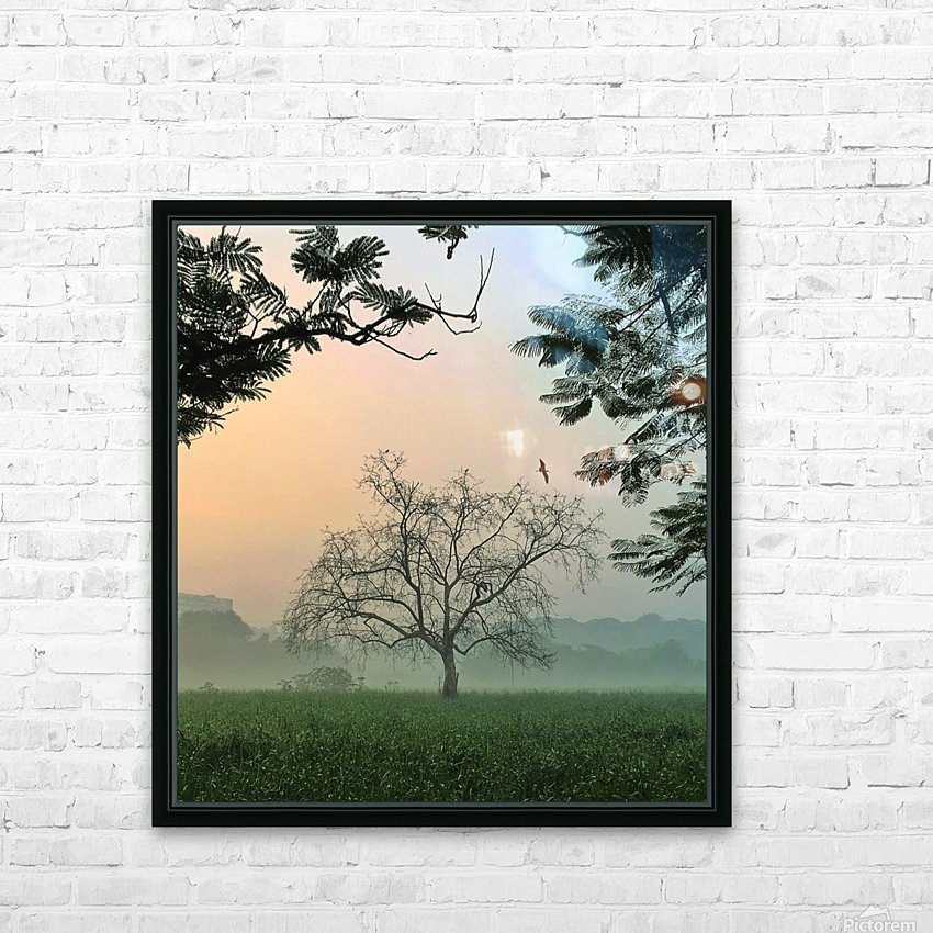 Solo HD Sublimation Metal print with Decorating Float Frame (BOX)