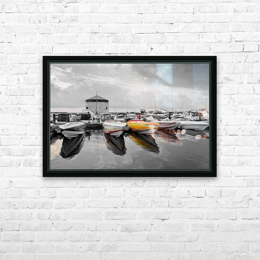 Cigarette Boats HD Sublimation Metal print with Decorating Float Frame (BOX)