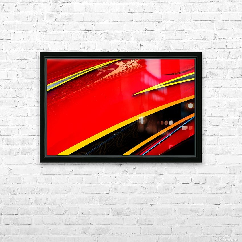 Angled HD Sublimation Metal print with Decorating Float Frame (BOX)