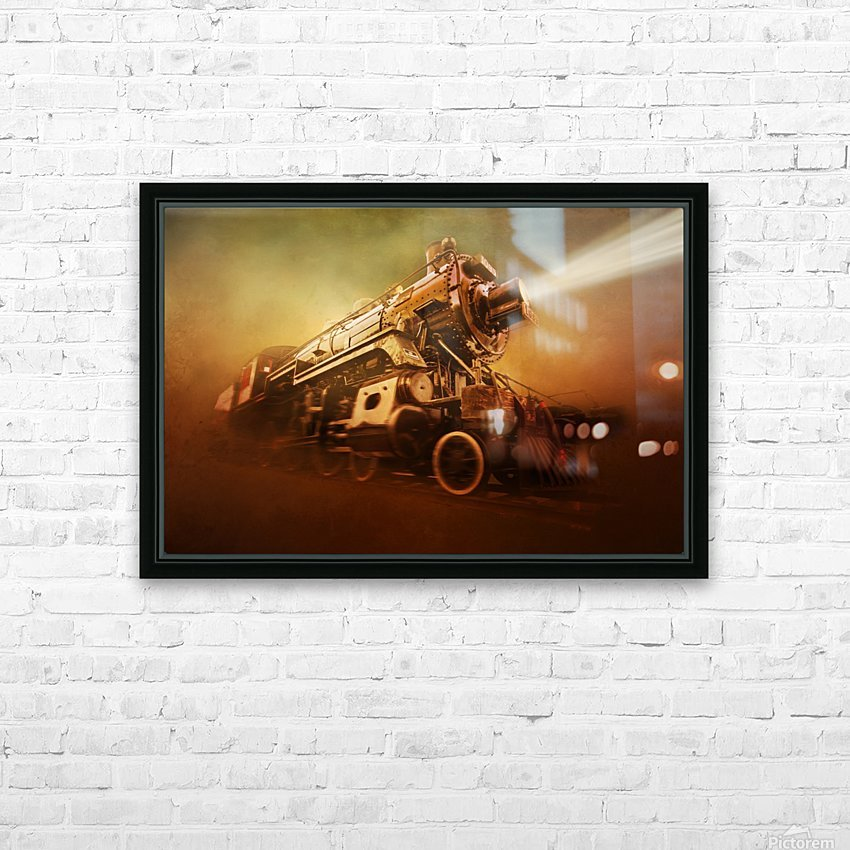 Engine 1095 HD Sublimation Metal print with Decorating Float Frame (BOX)