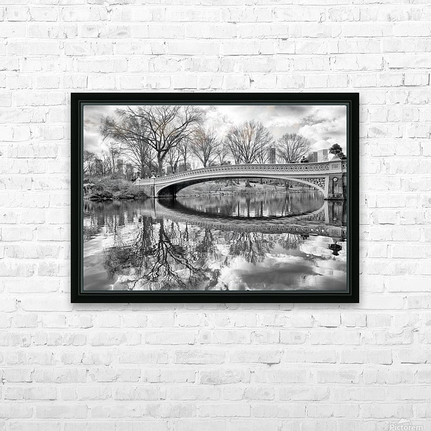 Bow Bridge HD Sublimation Metal print with Decorating Float Frame (BOX)