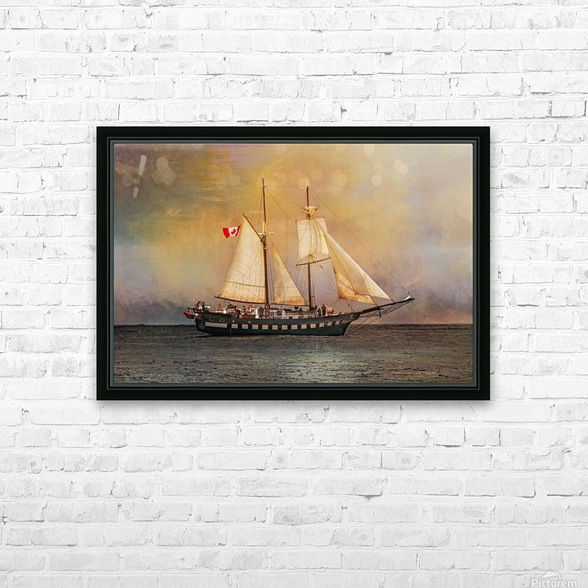 Fair Jeanne HD Sublimation Metal print with Decorating Float Frame (BOX)