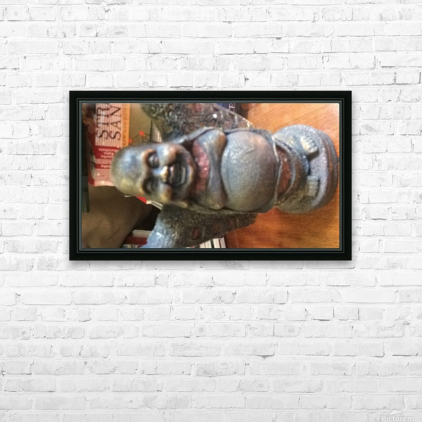Flicker to the Time Ticker HD Sublimation Metal print with Decorating Float Frame (BOX)