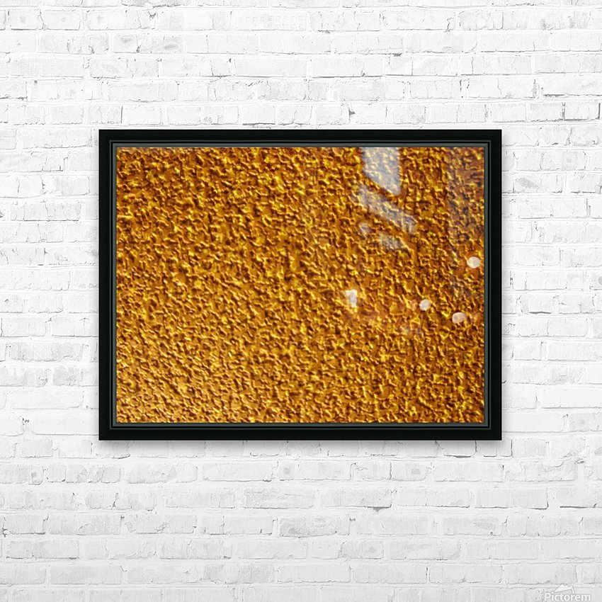 Wall Texture HD Sublimation Metal print with Decorating Float Frame (BOX)