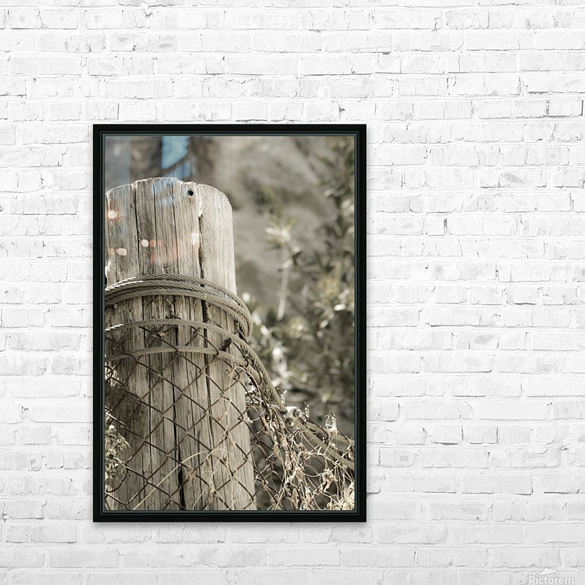 On the Ranch  HD Sublimation Metal print with Decorating Float Frame (BOX)