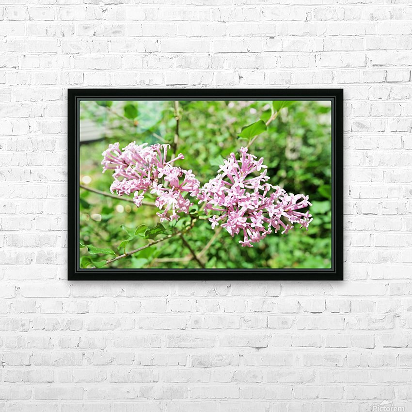Bright Lilac  HD Sublimation Metal print with Decorating Float Frame (BOX)