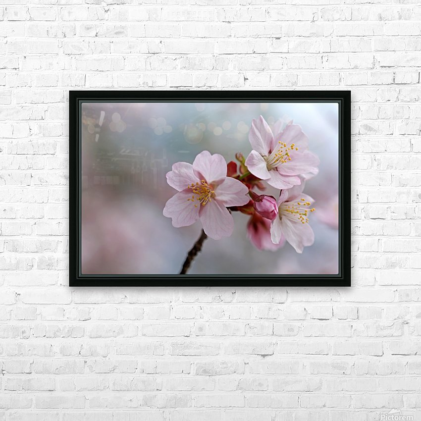 Pastels HD Sublimation Metal print with Decorating Float Frame (BOX)