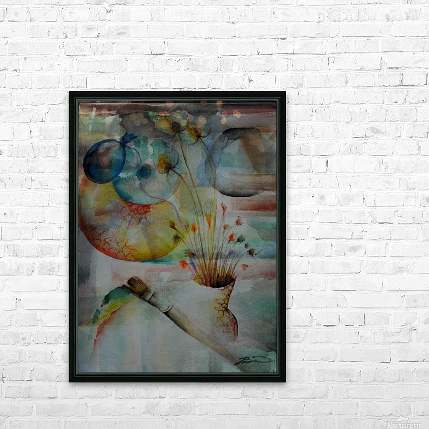 No title.. HD Sublimation Metal print with Decorating Float Frame (BOX)