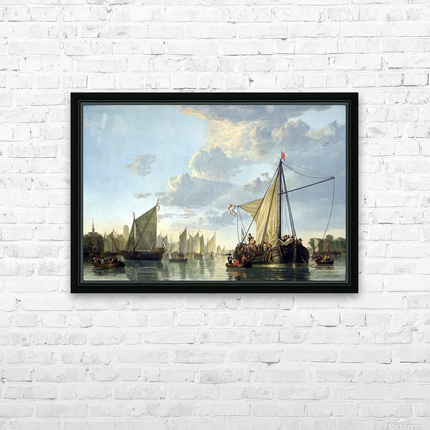 Aelbert Cuyp HD Sublimation Metal print with Decorating Float Frame (BOX)